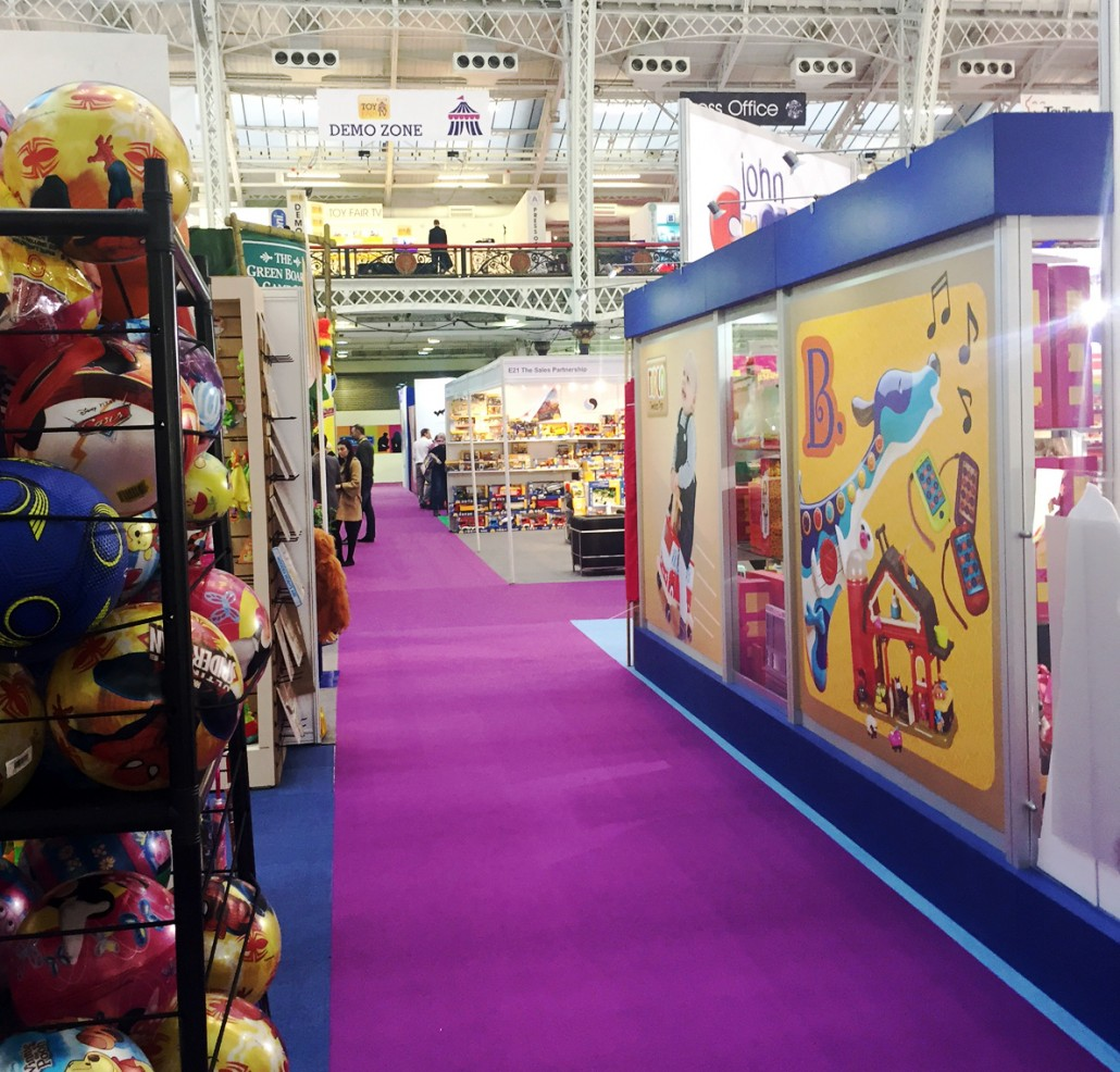 Toy Fair Displays